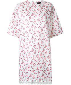 DRESS CAMP | Платье С Узором В Виде Клубники