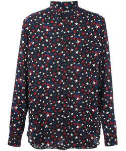 Saint Laurent | Рубашка С Принтом Звезд