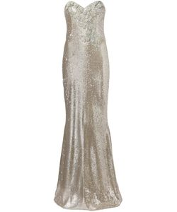Marchesa Notte | Sequin Embellished Gown