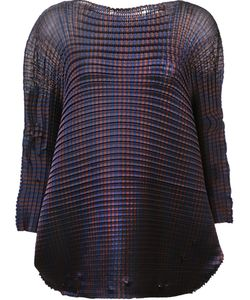Issey Miyake | Grid Pleats Blouse
