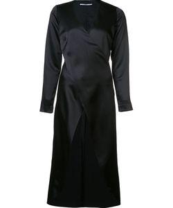 ROSETTA GETTY | Длинная Блузка С Перекрещенным Дизайном