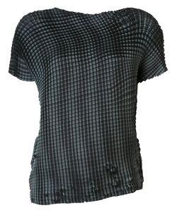 Issey Miyake | Grid Pleats T-Shirt