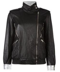 Saint Laurent | Куртка На Смещенной Молнии