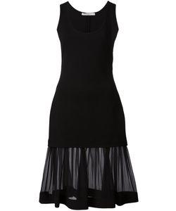 Givenchy | Платье С Прозрачным Подолом