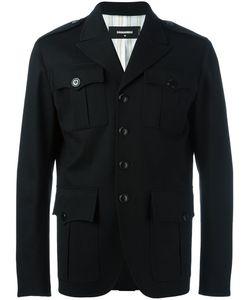 Dsquared2 | Peaked Lapel Shirt Jacket