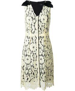 Marc Jacobs | Платье Миди С Цветочным Кружевом