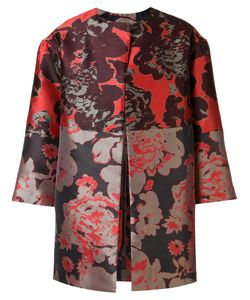 Josie Natori | Abstract Pattern Jacket