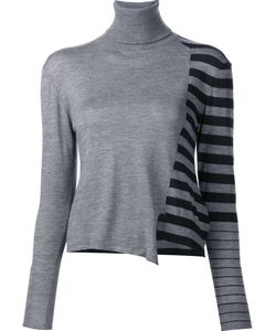 Les Animaux | Striped Turtleneck Jumper