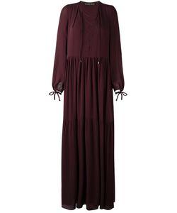 Plein Sud | Длинное Платье С Вырезом На Шнуровке