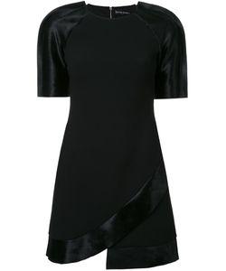 David Koma | Платье С Контрастными Рукавами