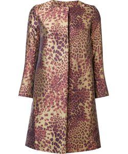 Josie Natori | Leopard Print Coat