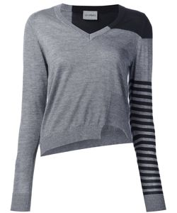 Les Animaux | Striped Asymmetric Jumper