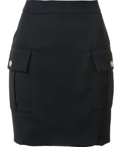 Pierre Balmain | Flap Pocket Mini Skirt