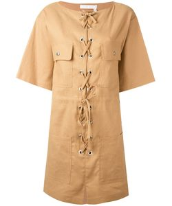 See By Chloe | See By Chloé Lace-Up Shift Dress
