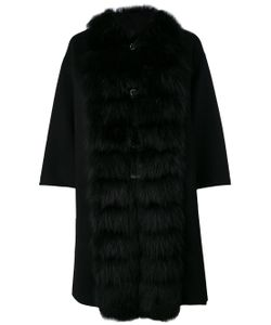 Ermanno Scervino | Fur Collar Cape