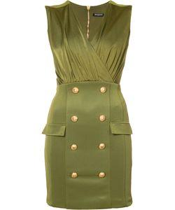 Balmain | Коктейльное Платье С Декоративными Пуговицами
