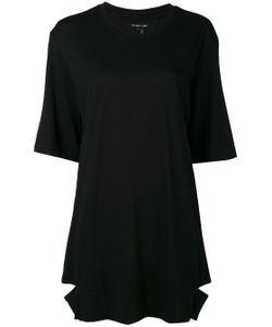 Helmut Lang | Oversized Slit Detail T-Shirt