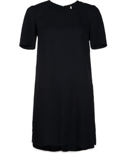 Adam Lippes | Contrast Piping Crepe Dress 6 Viscose