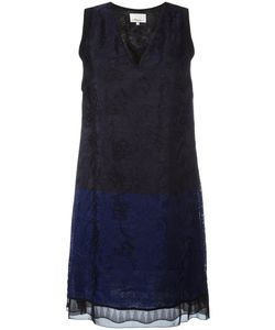 3.1 Phillip Lim | Lace Shift Dress 8 Viscose/Polyamide/Silk/Nylon