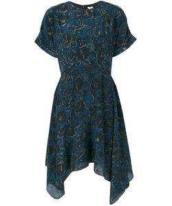 Kenzo | Расклешенное Платье С Цветочным Принтом