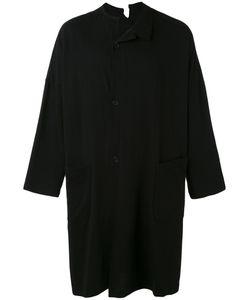 Yohji Yamamoto | Пальто Свободного Кроя