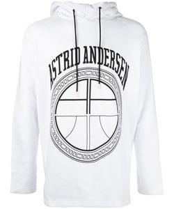 Astrid Andersen   Logo Print Hoodie