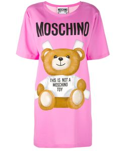 Moschino | Toy Bear Print T-Shirt Dress Rayon/Other
