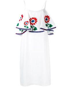 DAFT | Платье С Цветочной Вышивкой