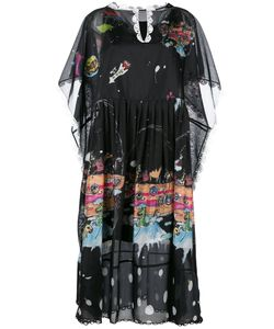 Tsumori Chisato | Printed Shift Dress Small Polyester