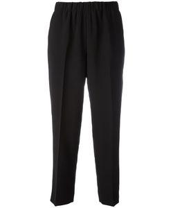 Kiltie | Cropped Stretch-Waist Trousers Size 48