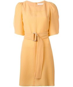 See By Chloe | See By Chloé Belted Shirt Dress 36 Polyester/Viscose