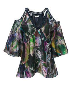 MARTHA MEDEIROS | Cold Shoulder Marta Blouse Size 38