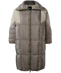 Diesel | Three-Quarters Sleeve Puffer Coat Medium Polyester/Nylon/Feather Down