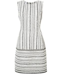 Oscar de la Renta | Woven Sleeveless Shift Dress