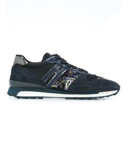 Hogan Rebel | Woven Panel Sneakers