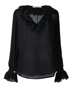 Givenchy | Полупрозрачная Блузка С Рюшами
