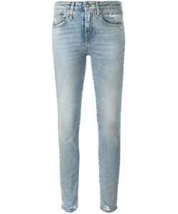 R13 | Light Wash Ankle Jeans