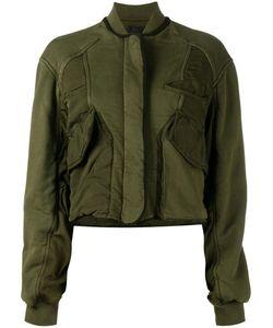 Haider Ackermann | Укороченная Куртка Бомбер С Панельным Дизайном