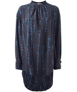 A.F.Vandevorst | Удлиненная Блузка С Геометрическим Принтом