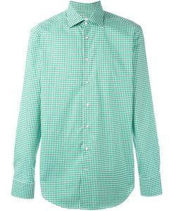 Etro | Рубашка В Клетку На Пуговицах