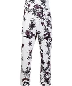 Ann Demeulemeester | Printed Cropped Trousers