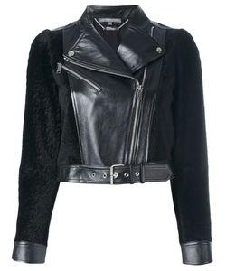 Alexander McQueen | Cropped Biker Jacket