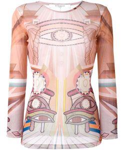 Givenchy | Полупрозрачный Топ Stargate