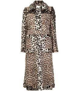 Stella Mccartney | Пальто Из Искусственного Меха С Панельным Дизайном