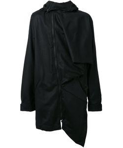 MOOHONG | Асимметричное Пальто С Капюшоном