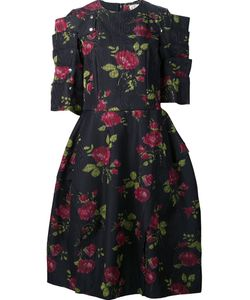 Comme Des Garcons | Платье С Розами