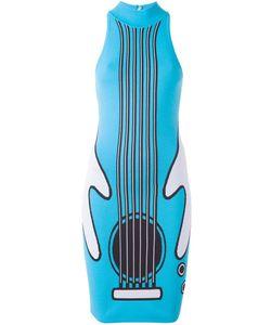 Jeremy Scott | Платье С Принтом Гитары