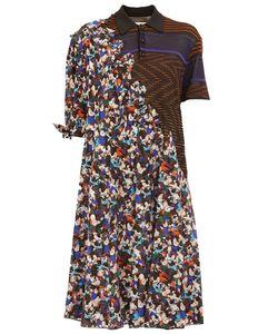 Maison Margiela | Платье-Рубашка С Контрастными Узорами