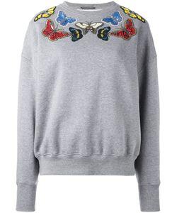 Alexander McQueen | Толстовка С Декорированными Бабочками