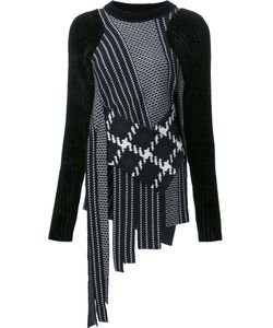 3.1 Phillip Lim | Fringed Check Jumper